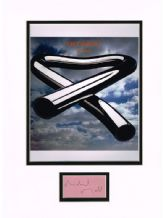 Mike Oldfield Autograph Signed - Tubular Bells